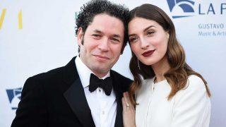 María Valverde y su marido, Gustavo Dudamel, en Los Ángeles / Gtres