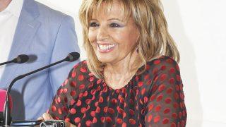 María Teresa Campos durante su nombramiento de Hija Adoptiva de Málaga /Gtres