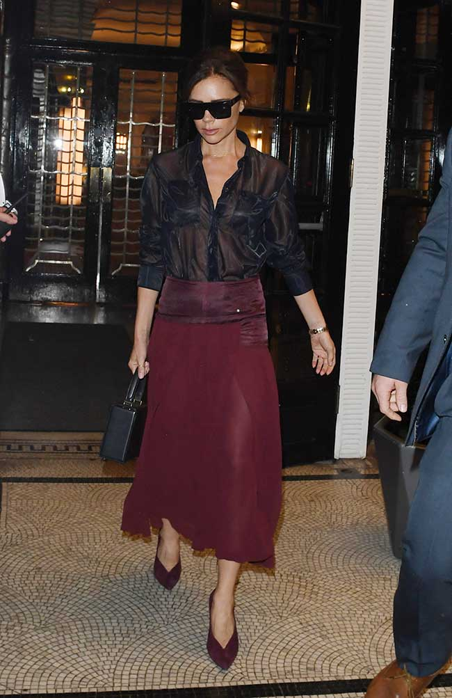 Victoria Beckham en Londres / Gtres