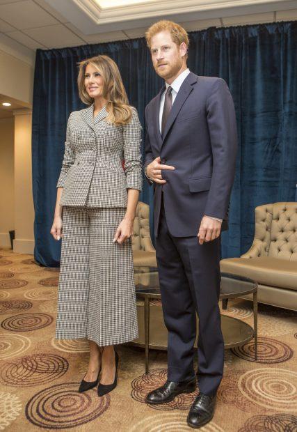 El total look de Dior de Melania Trump / Gtres