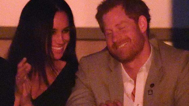 Las imágenes más románticas de Meghan Markle y el príncipe Harry
