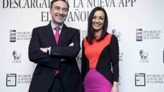 El periodista Pedro J. Ramírez y Cruz Sánchez de Lara en una imagen de archivo /Gtres