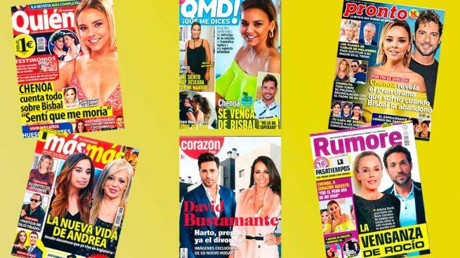 Chenoa revistas octubre