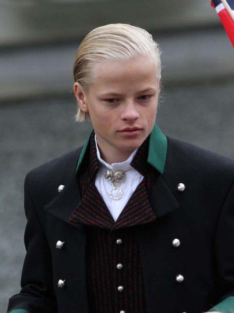 Marius Borg, hijo mayor de la princesa Mette Marit