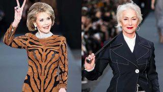 Jane Fonda y Helen Mirren / Gtres