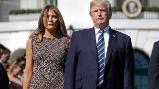 La Primera Dama, Melania Trump, y el presidente de Estados Unidos, Donald Trump. / Gtres