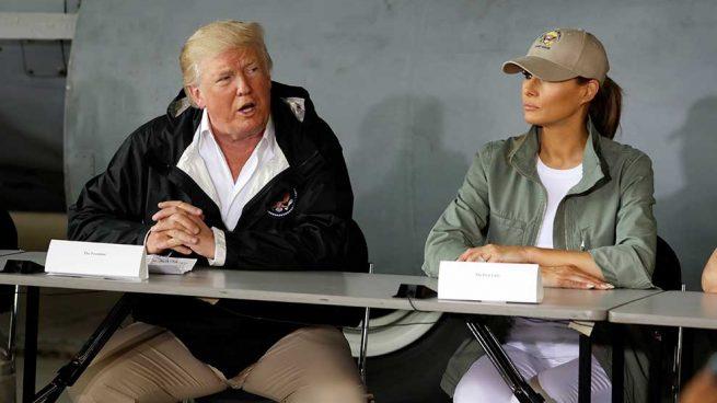 Tacones Desastre Melania Trump