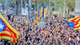 Imagen de la huelga general convocada tras el 1-O. / Gtres
