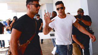 Ricky Martin llega a Puerto Rico / Gtres