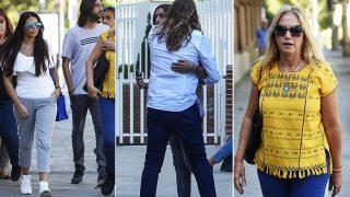 Los familiares de Antonio Carmona llegan al hospital / Gtres