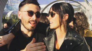 Davide y su novia muy cómplices /Instagram