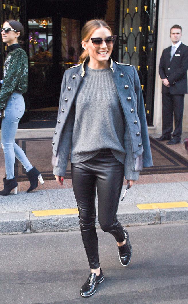 Las claves de Olivia Palermo para llevar un zapato masculino con estilo