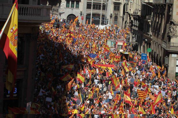 Así ha sido el discurso de Mario Vargas Llosa contra el independentismo catalán