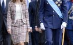 La entonces Princesa de Asturias durante el desfile militar del 12 de octubre de 2012 / Gtres