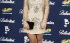 La presentadora Ares Teixido en el photocall de los 40 Principales Music Awards en Madrid en 2015 / Gtres