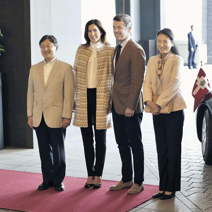 Princesa Mary Dinamarca Looks Viaje Japón