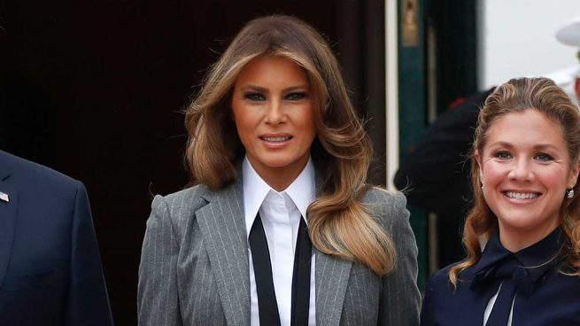 Melania Trump Traje Sastre