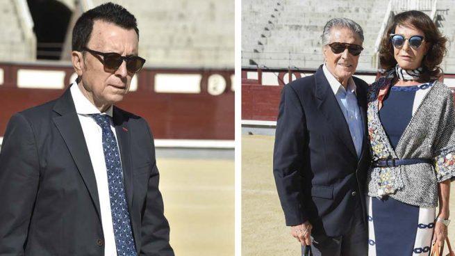 José Ortega Cano y la pareja formada por Jaime Ostos y María Ángeles Grajal