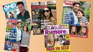 Las portadas de las revistas /Fotomontaje LOOK