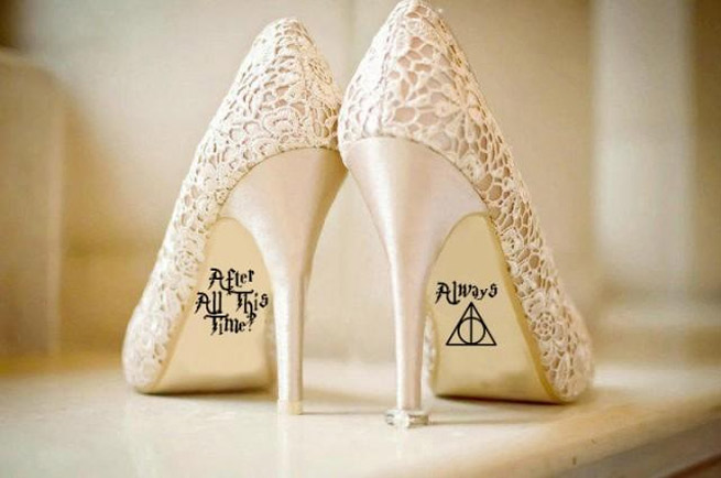 zapatos harry potter novia