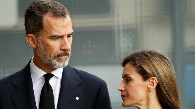 Don Felipe y Doña Letizia Reyes España
