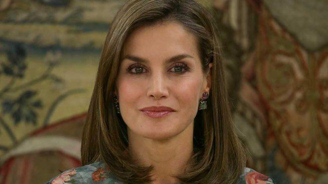 Reina Letizia Vestido Flores Zara