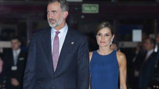 Los reyes Felipe y Letizia a su llegada al Auditorio 'Príncipe Felipe' / Gtres