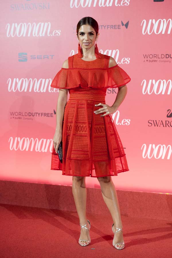 Ariadne Artiles Looks Fiesta 25 Aniversario Revista Woman