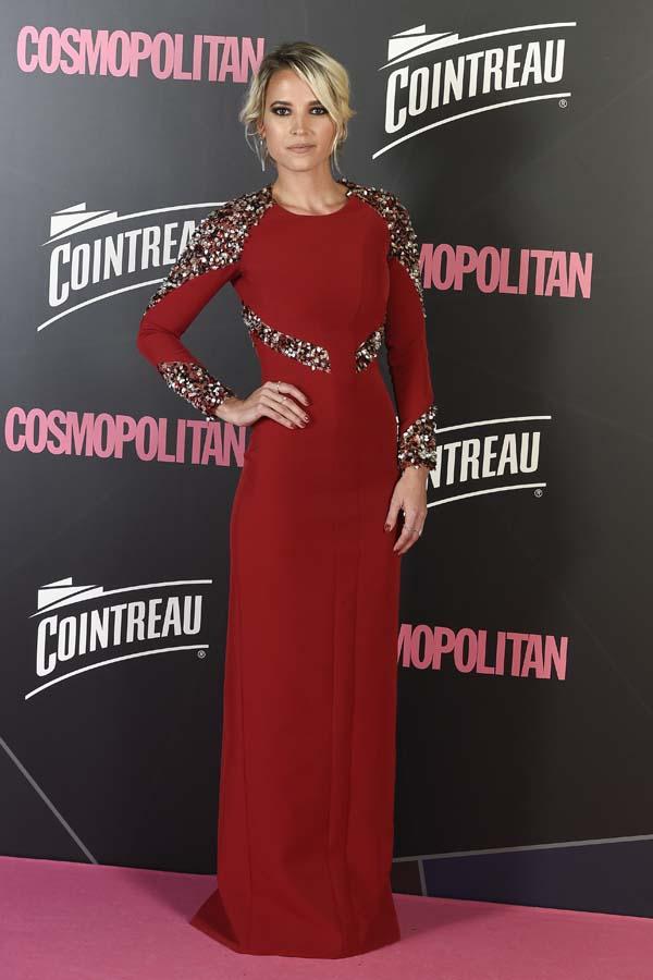 El look nupcial de Lara Álvarez y otros aciertos y errores en los premios Cosmopolitan