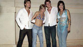 El grupo musical 'Fórmula abierta' en sus inicios /Gtres