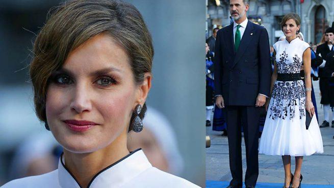 Letizia en los premios princesa de asturias