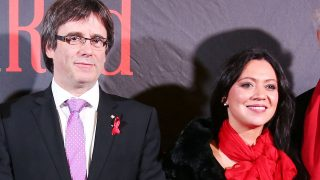 Carles Puigdemont junto a su mujer Marcela Topor en imagen de archivo /Gtres