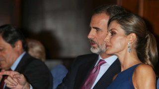Los Reyes, durante el XXVI Concierto Premios Princesa de Asturias / Gtres