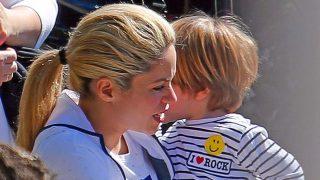 Shakira se va de gira con sus hijos, pero sin Piqué / Gtres