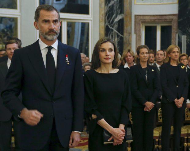 La reina Letizia 'se acerca' a la infanta Cristina