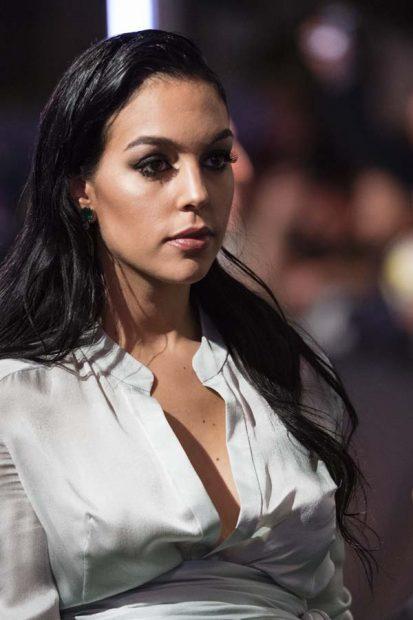 Georgina Rodríguez Look Criticas Premios The Best 2017