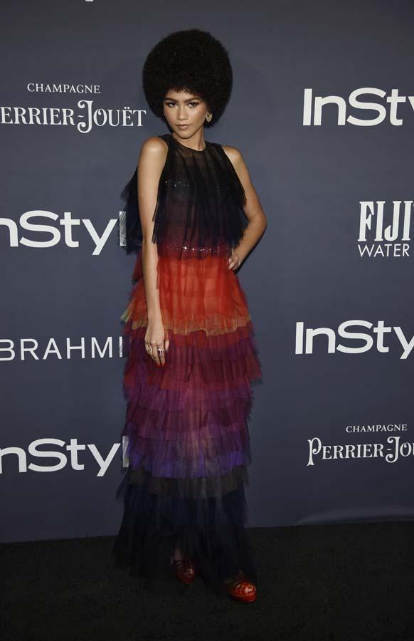 Looks Premios InStyle Selena Gomez Zendaya