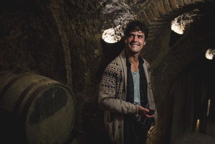El torero Miguel Abellán en las cuevas de la Bodega Muñoz Martín / Gtres