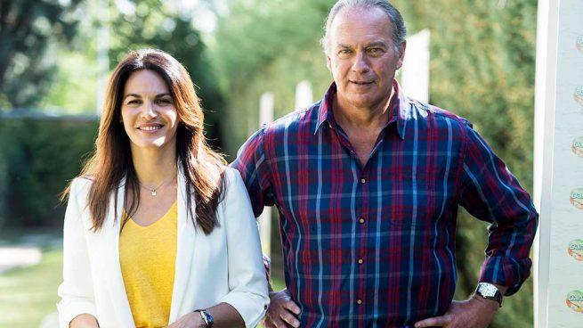 Fabiola Martínez y Bertín Osborne