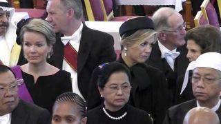 Máxima de Holanda, Matilde de Bélgica y Silvia de Suecia / Gtres