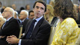 Ana Botella y José María Aznar en una imagen de archivo /Gtres