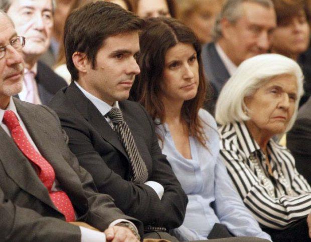 José María Aznar y Mónica Abascal