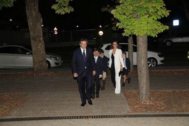 Así ha sido el fiestón del 40 aniversario de boda de Ana Botella y José María Aznar