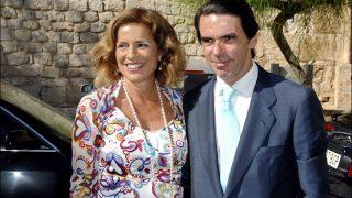 [CONSULTA LA GALERÍA] José María Aznar y Ana Botella en una imagen de archivo /Gtres