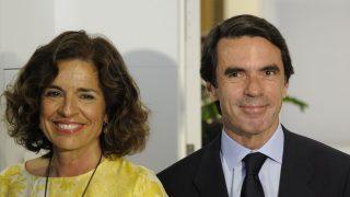 José María Aznar y Ana Botella en una imagen de archivo /Gtres