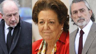 Francisco Correa, Rita Barberá y Rodrigo Rato en un fotomontaje /LOOK