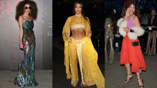 Kim Kardashian Amal Clooney Cindy Crawford Disfraces Halloween 2017