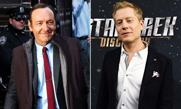 Kevin Spacey y Anthony Rapp