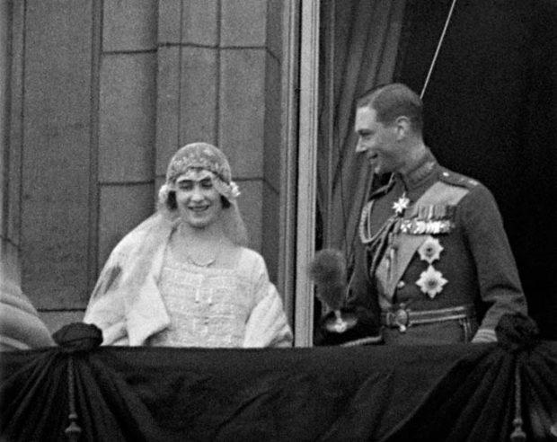 Elizabeth Bowes Lyon y Jorge VI