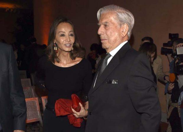 Isabel Preysler and Mario Vargas